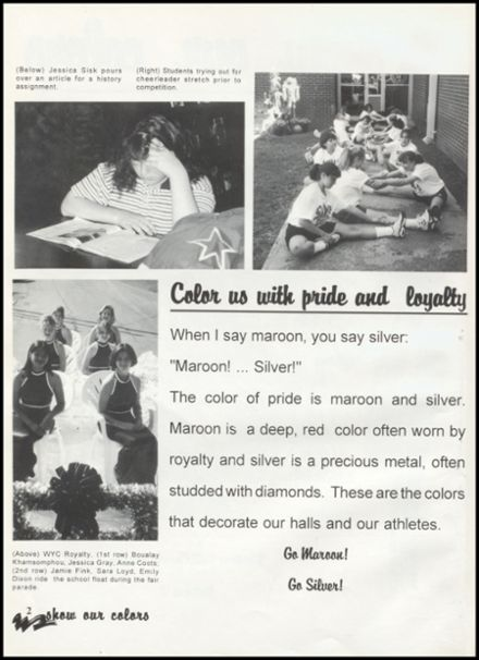 1997 Western Yell County High School Yearbook Page 6