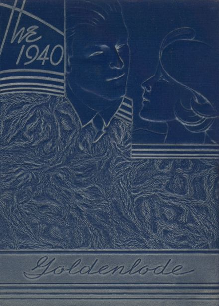 1940 Lead High School Yearbook Cover