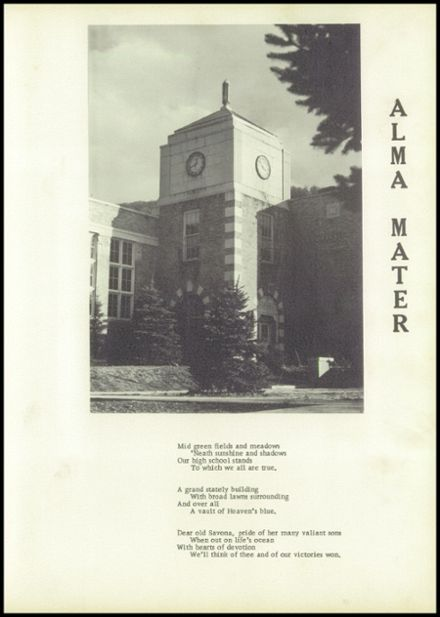 1953 Savona High School Yearbook Page 7