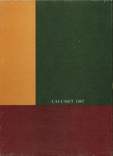 1967 Clairemont High School Yearbook Cover