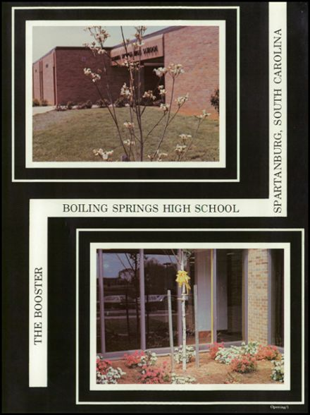 1981 Boiling Springs High School Yearbook Page 5