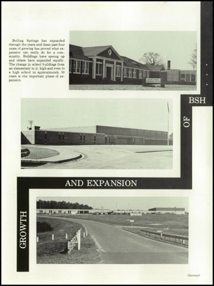 1981 Boiling Springs High School Yearbook Page 7
