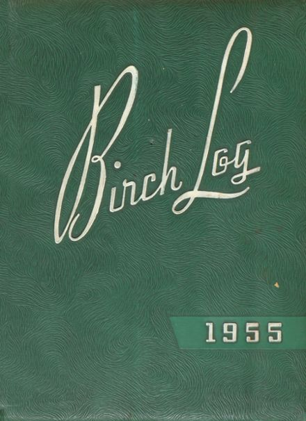 1955 East High School Yearbook Cover