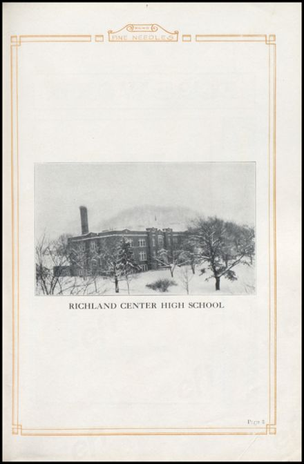 1926 Richland Center High School Yearbook Page 7