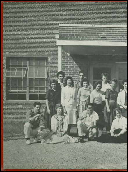 1960 Big Sandy High School Yearbook Page 2