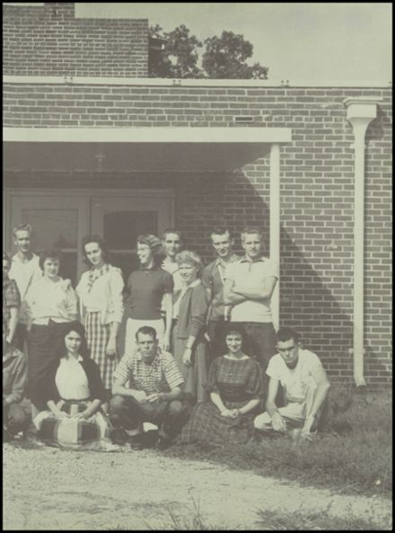 1960 Big Sandy High School Yearbook Page 3