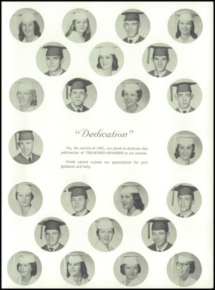 1960 Big Sandy High School Yearbook Page 7