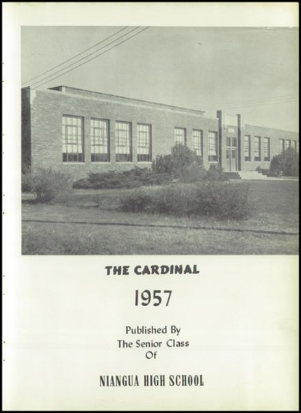 1957 Niangua High School Yearbook Page 7