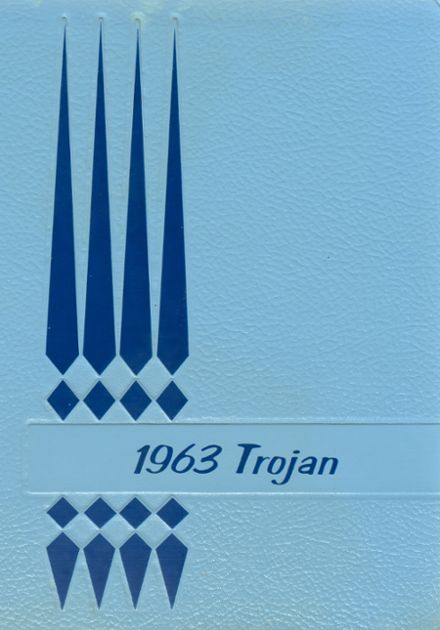 1963 Springfield High School Yearbook Cover
