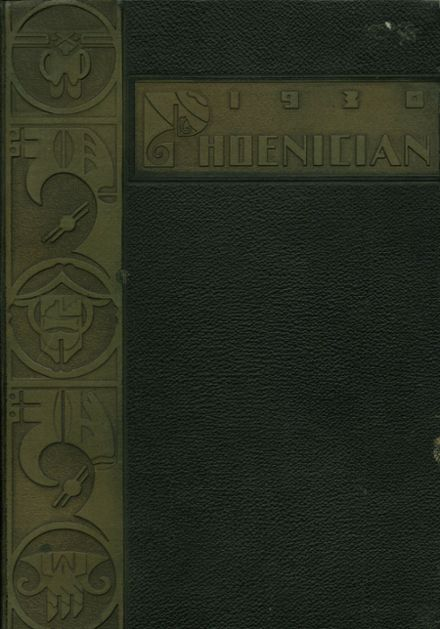1930 Phoenix Union High School Yearbook Cover
