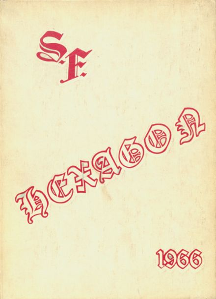1966 Seventy-First High School Yearbook Cover