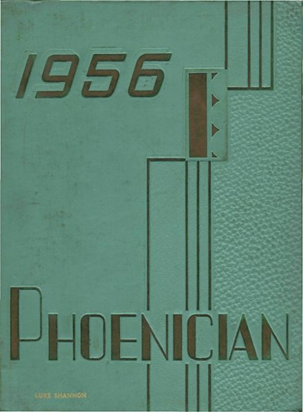 1956 Phoenix Union High School Yearbook Page 1