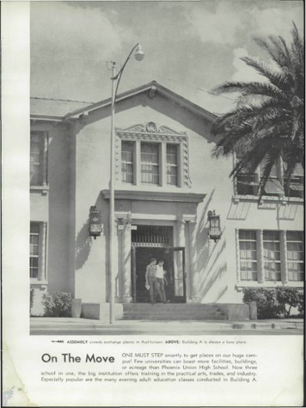1956 Phoenix Union High School Yearbook Page 9