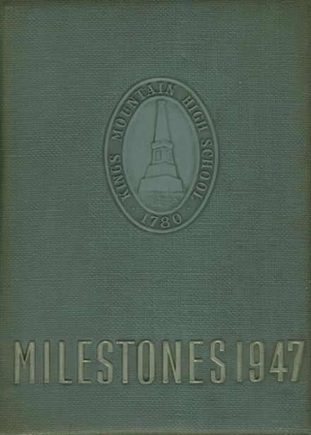 1947 Kings Mountain High School Yearbook Cover