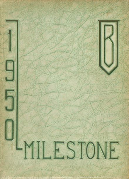 1950 Branford High School Yearbook Cover