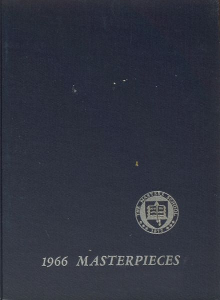 1966 The Masters School Yearbook Cover