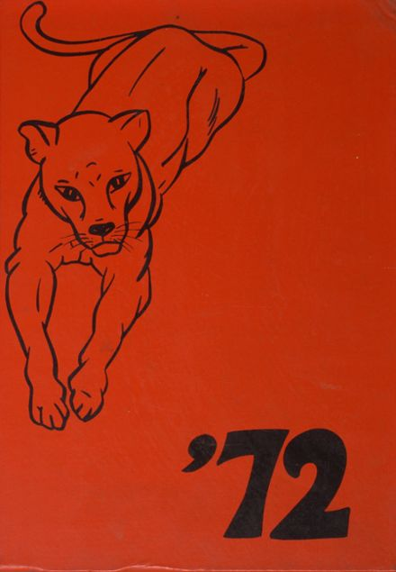 1972 Prouty Regional High School Yearbook Cover