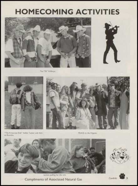 1995 Wewoka High School Yearbook Page 7