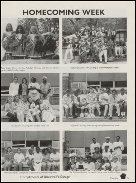 1995 Wewoka High School Yearbook Page 9