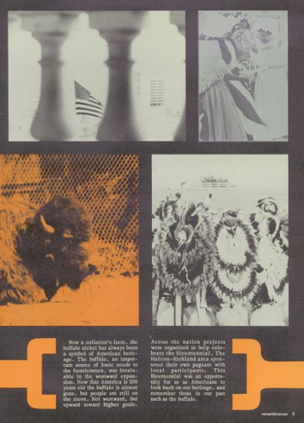 1976 Haltom High School Yearbook Page 9
