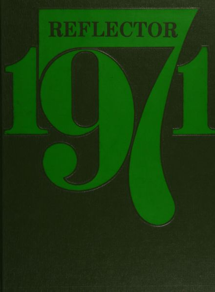 1971 Lawton High School Yearbook Cover