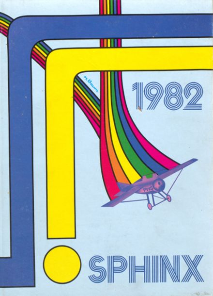 1982 Porta High School Yearbook Cover