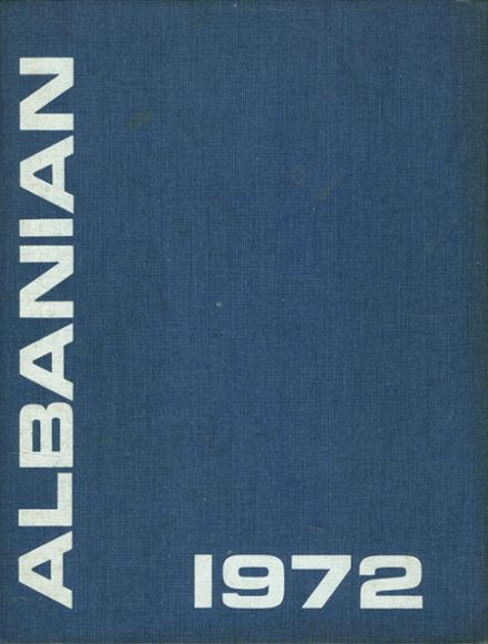 1972 St. Albans High School Yearbook Cover