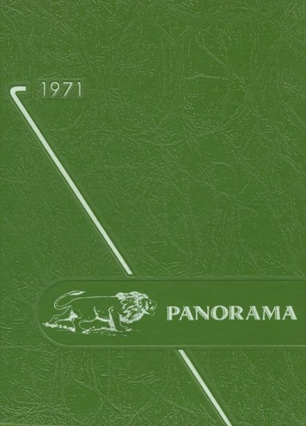 1971 Clarion-Limestone High School Yearbook Cover