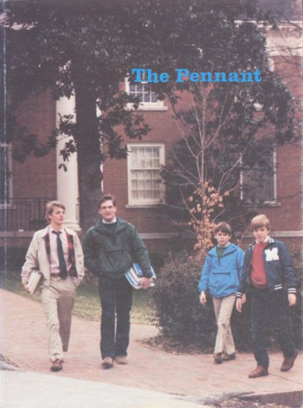 1983 McCallie High School Yearbook Cover