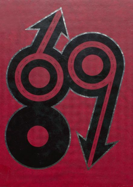 1989 Bloomfield High School Yearbook Cover