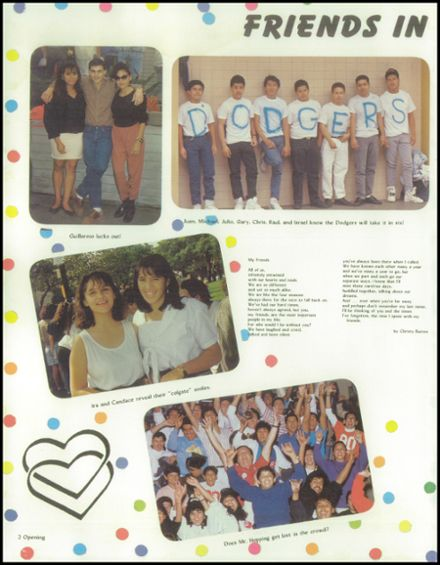1989 James Garfield High School Yearbook Page 6