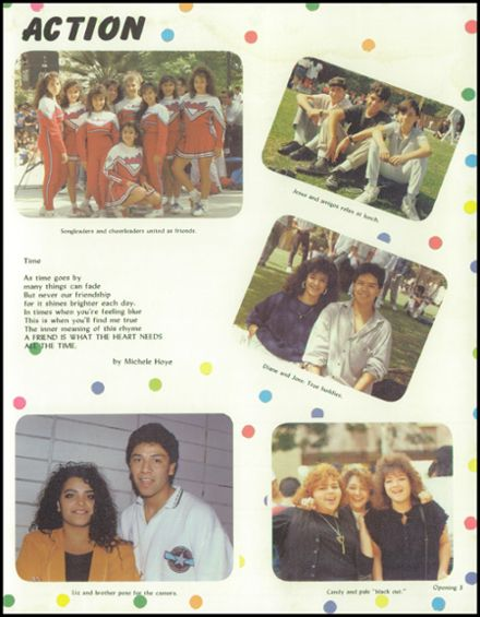 1989 James Garfield High School Yearbook Page 7
