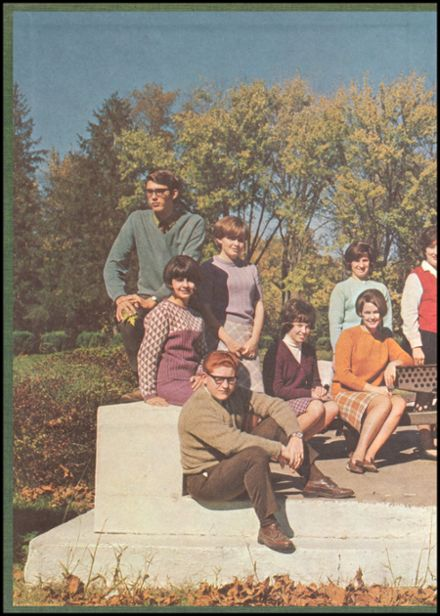 1968 Murphysboro High School Yearbook Page 2