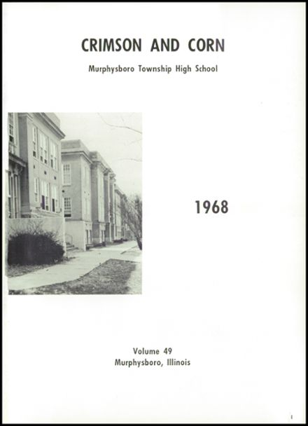 1968 Murphysboro High School Yearbook Page 5