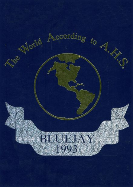 1993 Ashland High School Yearbook Cover
