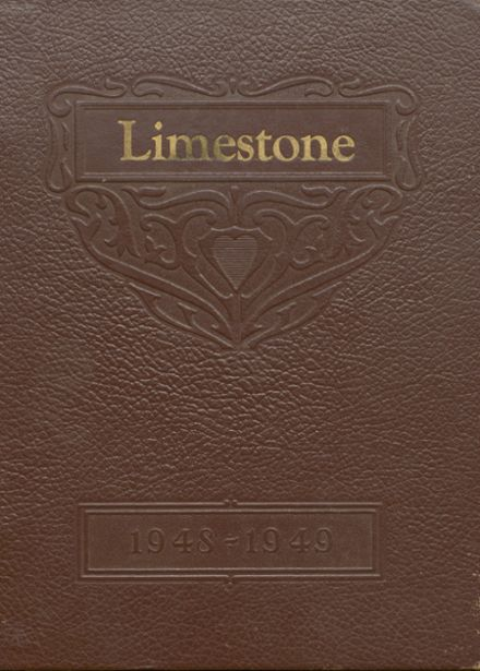 1949 Limestone School Yearbook Cover