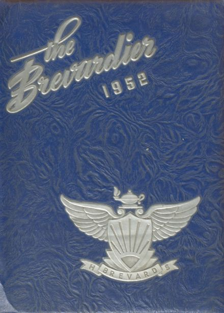 1952 Brevard High School Yearbook Cover