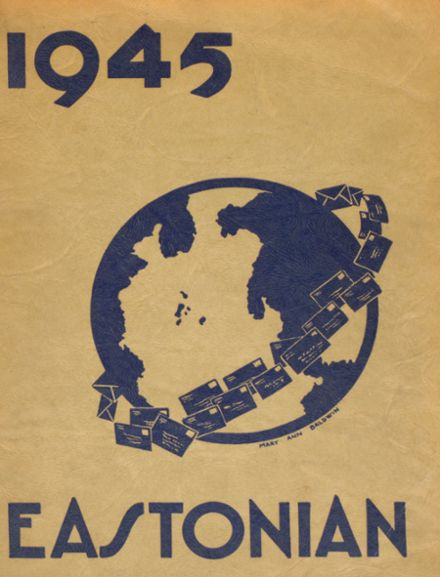 1945 East High School 307 Yearbook Cover