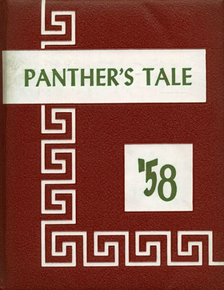 1958 Oblong Township High School Yearbook Cover