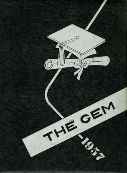 1957 Dimondale High School Yearbook Page 1