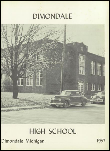 1957 Dimondale High School Yearbook Page 5