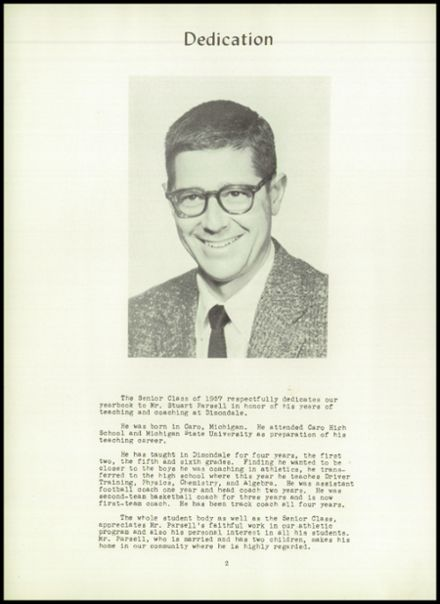 1957 Dimondale High School Yearbook Page 6