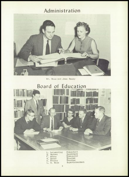 1957 Dimondale High School Yearbook Page 7