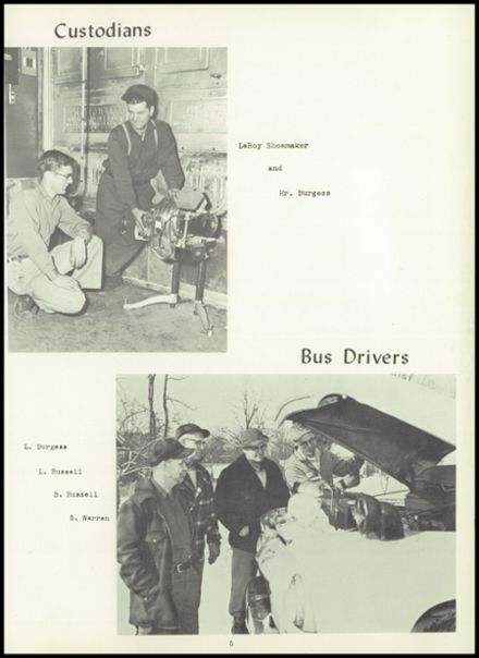 1957 Dimondale High School Yearbook Page 9