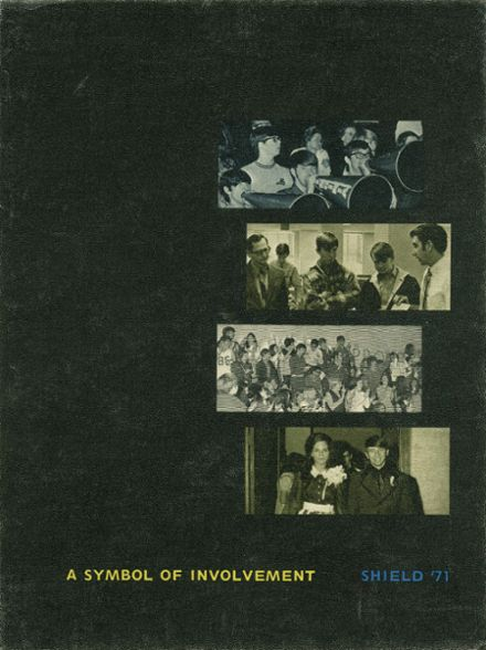 1971 Harding Academy Yearbook Cover