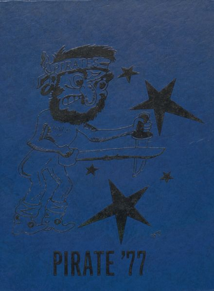 1977 Cyril High School Yearbook Cover