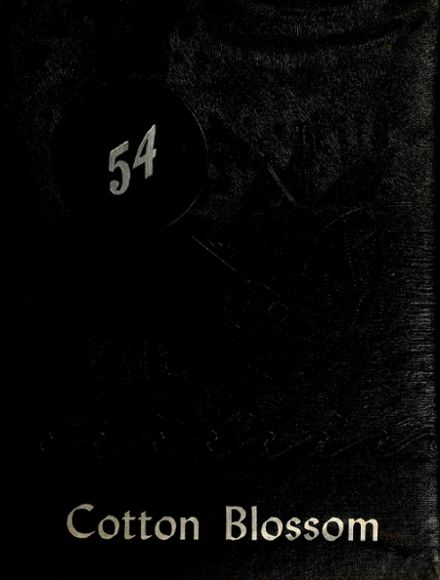 1954 Temple High School Yearbook Cover