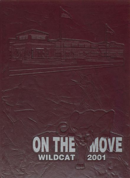 2001 Whitehouse High School Yearbook Cover