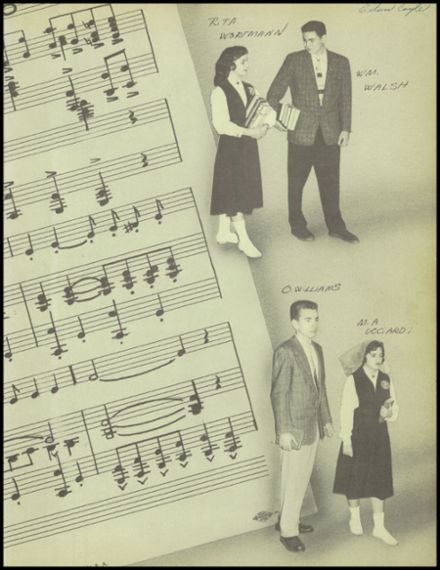 1957 Our Lady of the Valley High School Yearbook Page 3