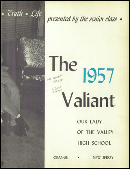 1957 Our Lady of the Valley High School Yearbook Page 7